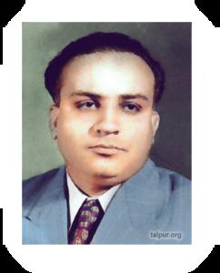 Photo of Mir Ali Nawaz Talpur, Sr of Tando Muhammad Khan