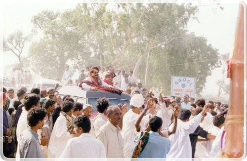 Mir Ali Nawaz Talpur Jr election victory celebrations pictures