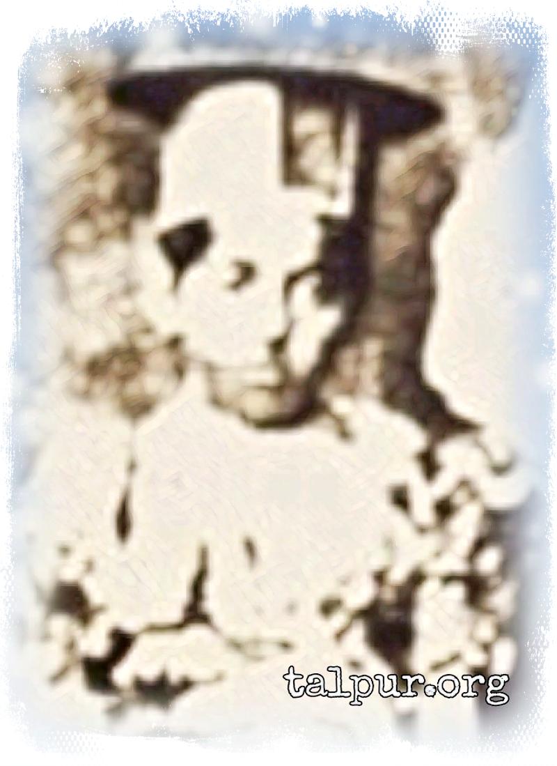 Photo of Shehzada Sarkar Mir Imam Bukhsh Khan Talpur, the 2nd son of Sher-i-Sindh Mir Sher Muhammad Khan Talpur
