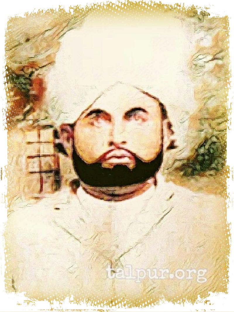 Photo og Khan Bahadur Mir Yar Muhammad Khan Talpur
