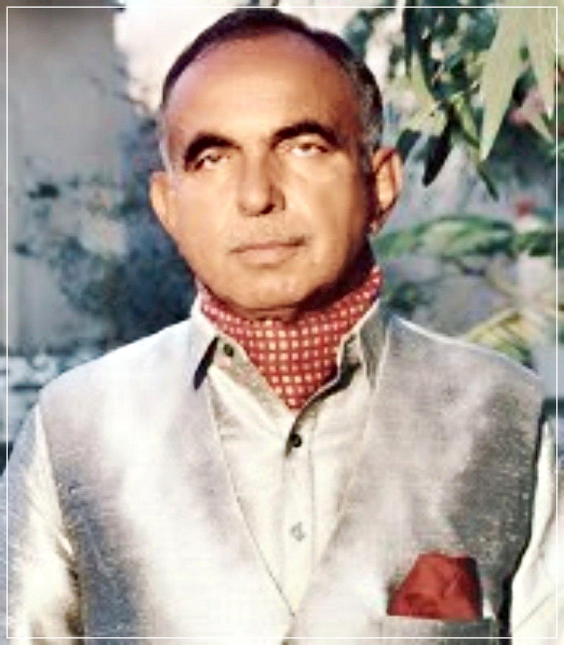 Photograph of Mir Haji Yar Muhammad Talpur