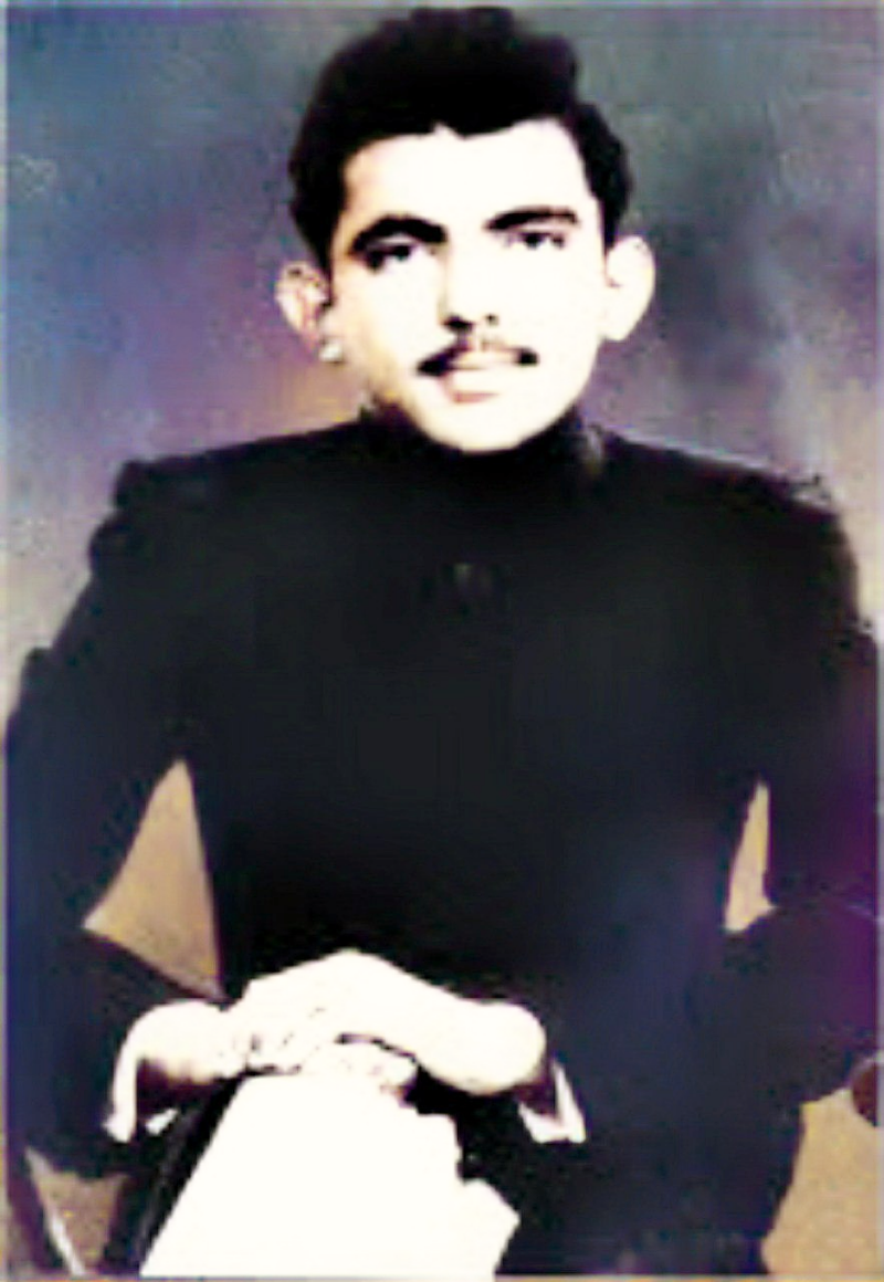 Pld photograph of Mir Haji Yar Muhammad Talpur